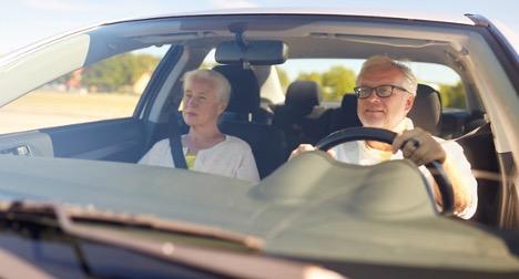 Man driving with Varilux® Progressive Lenses
