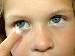 Contact Lenses Can Improve Athletic Performance