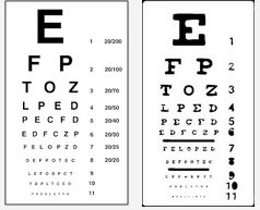Regular Eye Exam Eye Charts