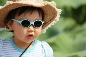 children having good vision