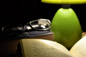Reading with Proper Lighting